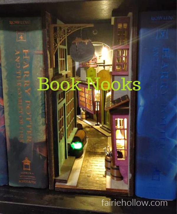 Book Nooks for Fairies