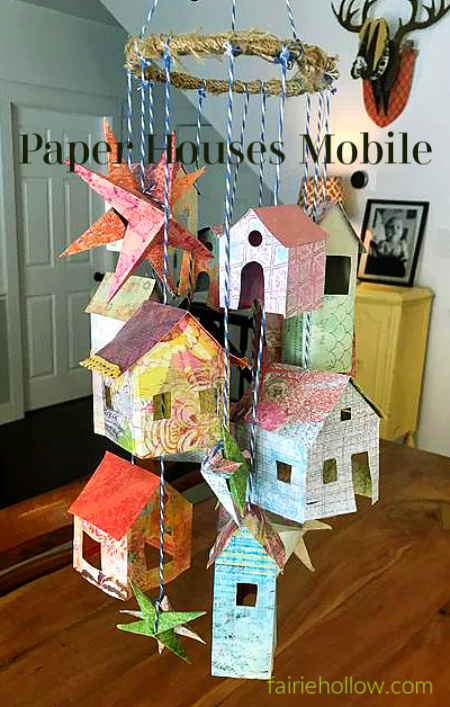 Make these Paper Houses with your Kids Today!