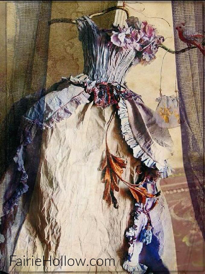 Fairy Dress made by Miss Clara
