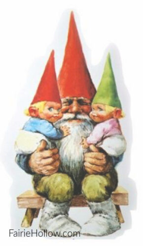 Gnome with children