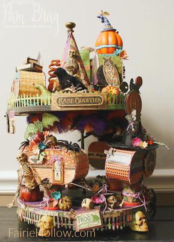 Our Favorite DIY Halloween Miniature Paper Decorations
