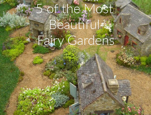 5 of the Most Beautiful Fairy Gardens