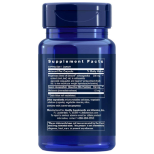 Enhanced Sleep with Melatonin supplement facts