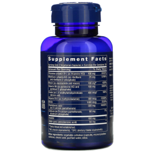 B Complex vitamin supplement facts