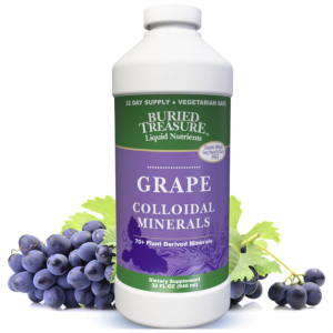 Buried Treasures Colloidal Minerals Grape 32 oz