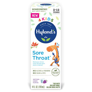 Hyland's 4 Kids Sore Throat Relief Hyland's