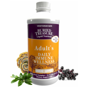 Buried Treasure Adult's Daily Immune Wellness Bottle