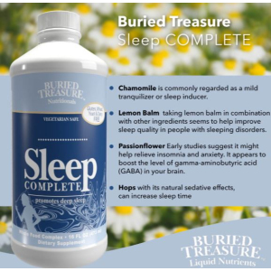Buried Treasure Sleep Complete Label