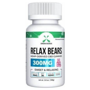 CBD Gummies Green Roads Relax Bears 300mg 30 ct