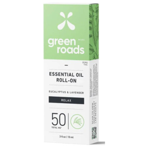 Eucalyptus and Lavender Essential Oil Hemp Roll on by Green Roads
