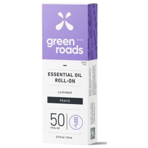 Hemp Lavender Essential Oil Roll-On Peace by Green Roads 50 mg