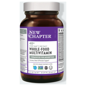 New Chapter Every Man's One Daily 40+ Multivitamin Bottle