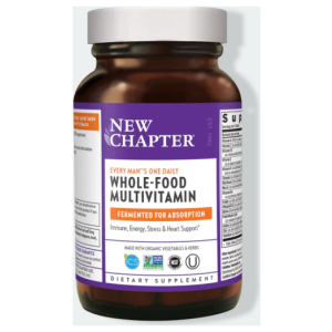 New Chapter Every Man One Daily Multivitamin Bottle