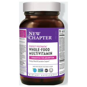 New Chapter Postnatal Vitamins - Perfect Postnatal Bottle