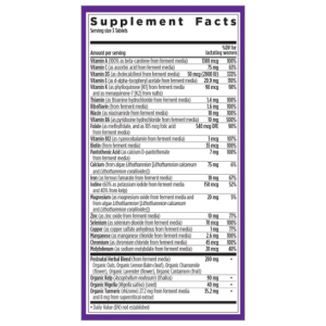 New Chapter Postnatal Vitamins - Perfect Postnatal Supplement Facts