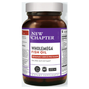 Wholemega Fish Oil Bottle