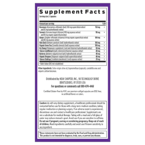 Zyflamend Supplement Facts