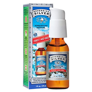 Sovereign Silver First Aid Gel – Homeopathic Medicine