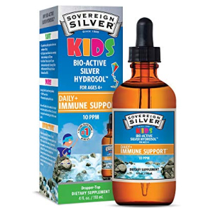 Sovereign Silver Bio-Active Silver Hydrosol for Kids Immune Support
