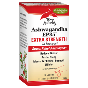 Ashwagandha Extra Strength by Terry Naturally bottle