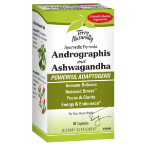 Terry Naturally Andrographis and Ashwagandha