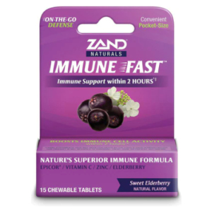 Elderberry Chewables by Zand Immune Fast Sweet Elderberry Flavor