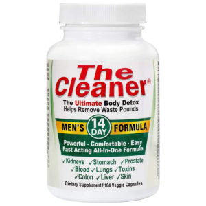 The Cleaner 14 day men detox formula