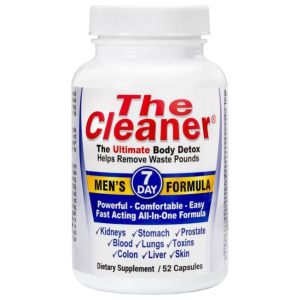 The Cleaner 7 day mens detox formula