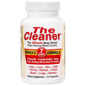 The Cleaner 7 day women's detox formula