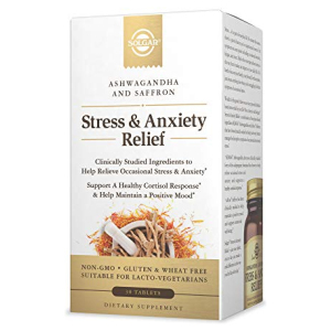 Stress and Anxiety Relief by Solgar with Ashwagandha & Saffron All in One Vitamins Fayetteville GA