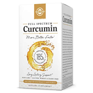 Solgar Curcumin Liquid Extract 60 softgels All in One Vitamins Fayetteville GA