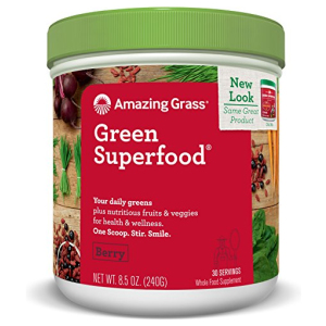 Amazing Grass Green Superfood Berry All in One Vitamins Fayetteville GA
