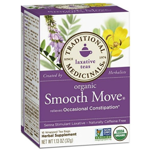 Traditional Medicinals Tea Smooth Move Laxati All in One Vitamins Fayetteville GA