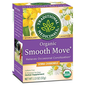 Traditional Medicinals Tea Smooth Move Senna Cham 16 Bag All in One Vitamins Fayetteville GA