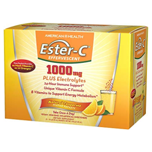 Ester-C Powder Packets Tangerine All in One Vitamins Fayetteville GA