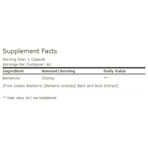 Berberine MetX™ Ultra Absorption Supplement Facts