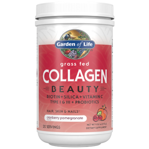 Grass Fed Collagen Beauty Cranberry Pomegranate 9.52oz (270g) Powder