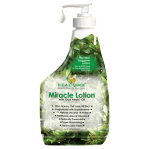 Miracle Lotion with God Heals Oil