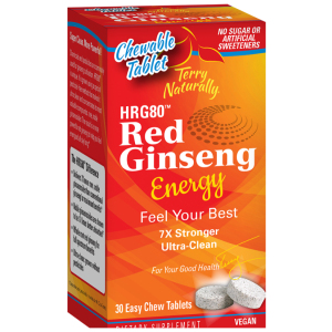 Red Ginseng (HRG80™) Energy Chewable