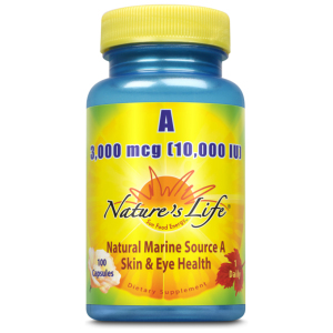 Vitamin A 3000 Mcg (10000 Iu) 100ct