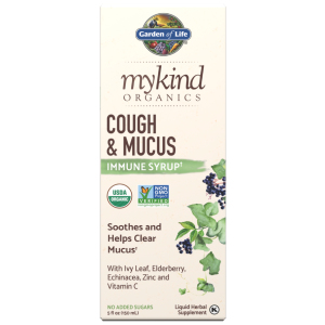 mykind Organics Cough & Mucus Immune Syrup 5 fl oz (150ml) Liquid
