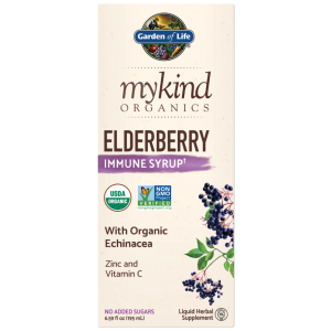 Elderberry Syrup mykind Organics Elderberry Immune Syrup 6.59 fl oz (195ml) Liquid
