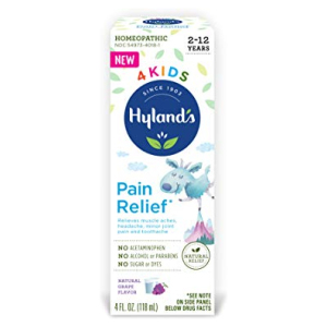 Hyland's 4Kids Pain Relief Grape Hyland's