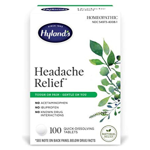 Headache and Tension Relief Hyland's