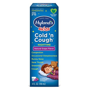 Hyland's 4Kids Cough and Cold Nightime Grape Hyland's