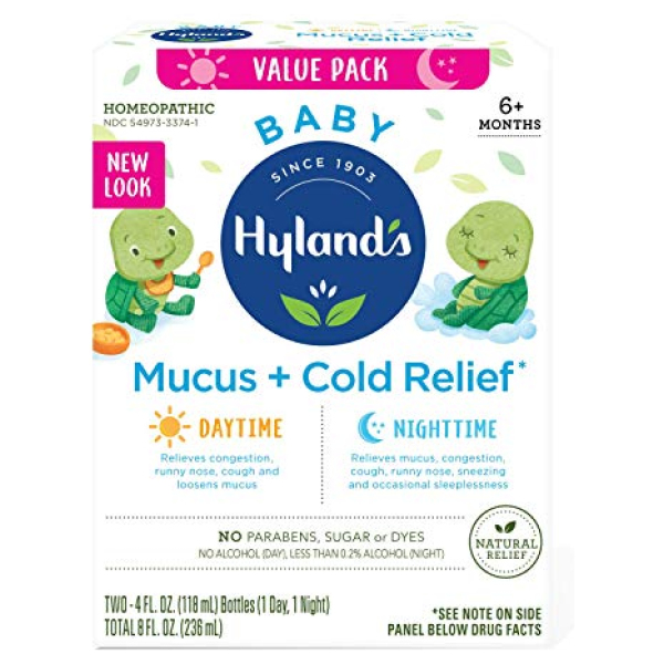 Baby Mucus and Cold Relief Day and Night Value Pack Hyland's