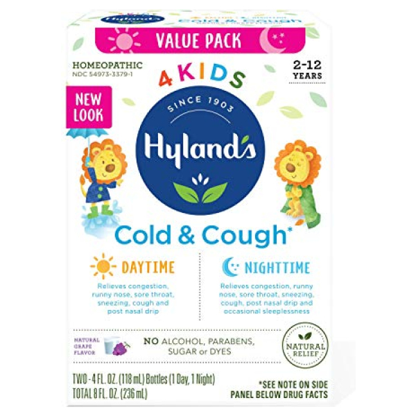 Hyland's Cough and Cold Day and Night Value Pack Grape Hyland's