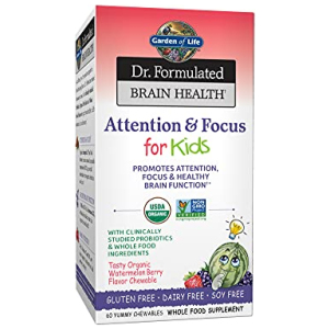 Garden of Life Dr. Formulated Attention and Focus for Kids