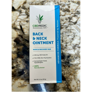 Back & Neck Ointment Muscle Recovery Rub