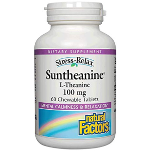 Stress Relax Chewable Suntheanine L-Theanine